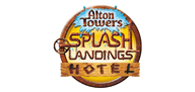 Up to 20% off your stay at Alton Towers Splash Lan Logo