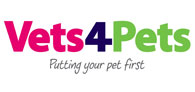 Save on Pet Health Plans at Vets4Pets Logo
